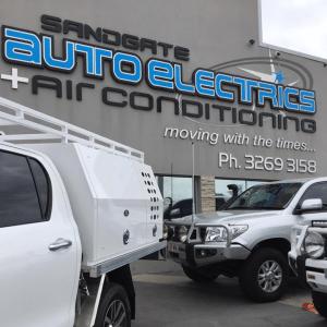 Sandgate Auto Electrics workshop