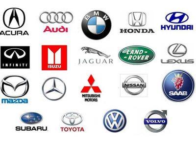 Asian car logos