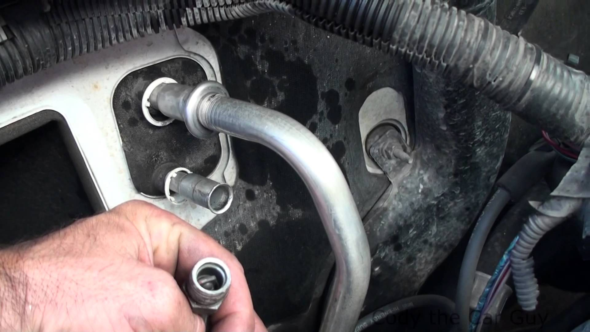 The 5 Reasons Why Your Vehicles Ac Leaks Water F250 Fuel Filter Drain Leak Blockage In Condensate Pipe