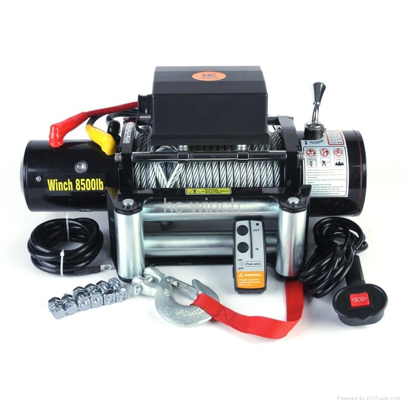 Components 4WD Winches