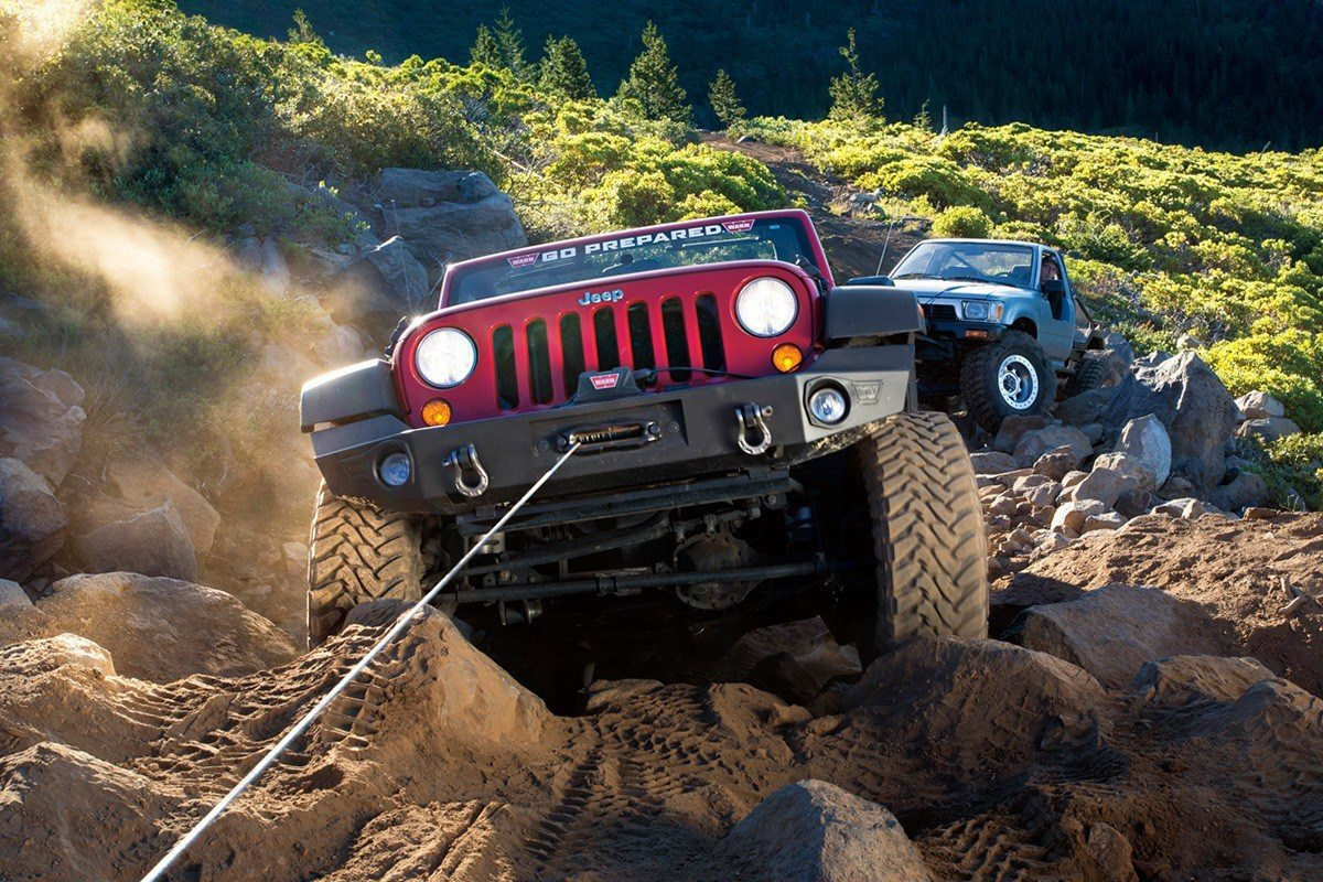 Winch-in-action