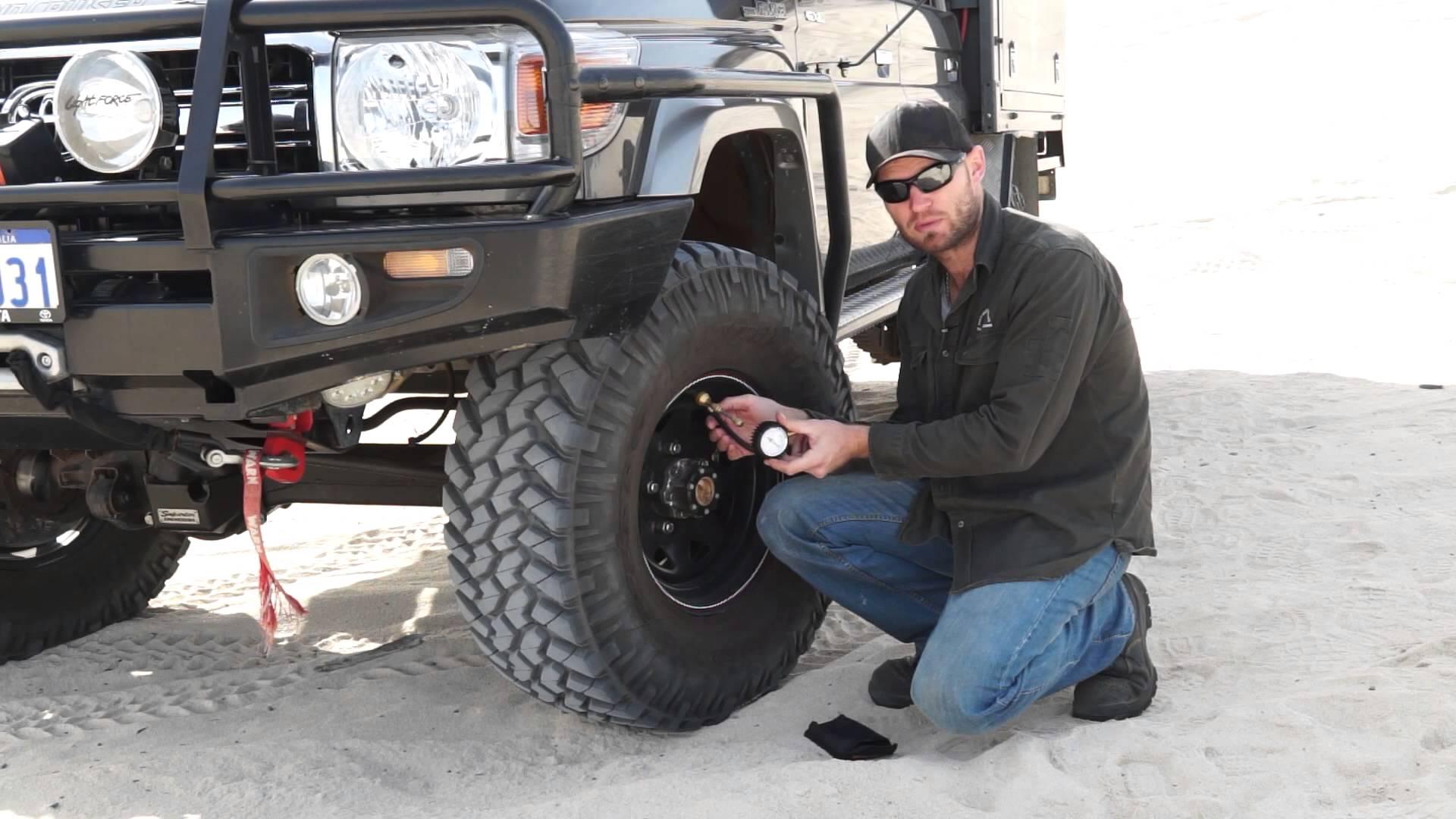 4wd tyre deflator